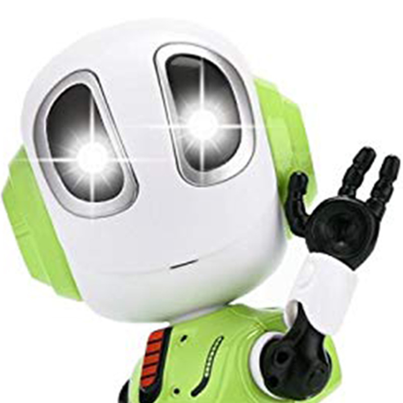 Mini Robotic Toys With LED Eyes Contact Control Best Birthday Gifts for 3 Year Child 4