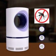 Usb חשמלי יתושים רוצח מנורת אולטרה סגול Led אור Photocatalytic יתוש מלכודת מכשיר בטוח אנרגיה חיסכון אנטי יתושים