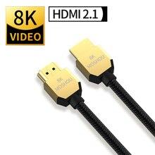 Кабель MOSHOU 8K, 60 Гц, 4K, 120 Гц, HDMI 2,1, 48 Гбит/с