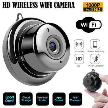 Wifi IP Camera HD 1080P Wireless Indoor Camera Nightvision Two Way Detection Baby Monitor V380 Audio Home Security with Stand