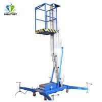 Plataforma de trabalho vertical móvel do mastro de alumínio