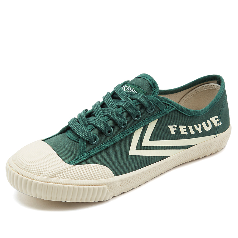 Feiyue Men Women Shoes Classics Shoes Canvas Rubber Lace-Up Shoes Sneakers