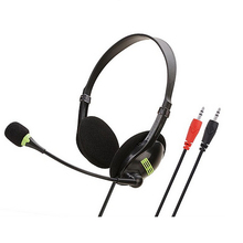 Pc Earphone Wired Gaming-Headset Head-Mounted Usb/3.5mm No for Laptop Computer with Mic