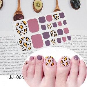 22 шт/лист полное покрытие обертывания наклейки для ногтей-лак полоски для дизайна ногтей декоративные полосы без повреждений ногтей DIY Блес...