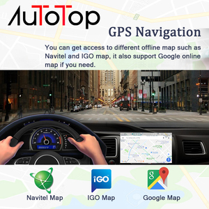 """Image 5 - AUTOTOP 2 Din Android 9.0 araç DVD oynatıcı GPS için Opel Vauxhall Astra Meriva Vectra Antara Zafira Corsa Agila 7 """"GPS radyo oynatıcısı yok DVD"""