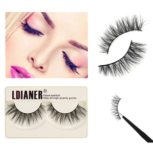 Women False Eyelashes Faux 3D