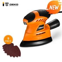 DEKO TMMS01 130 Вт шлифовальный станок для мыши с 9 листами наждачной бумаги пыли выхлопа