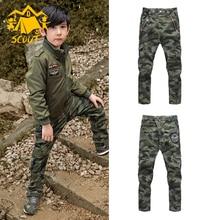 Hot selling baby boy pants camouflage personality casual slacks summer pants fashion baby clothes fashion mr pants slacks camera act