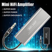 SD05 Portable Mini 3.5mm Headphone Earphone Headset HiFi Stereo Audio Amplifier