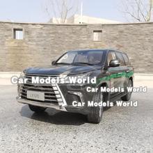 Pres döküm model araç için LX570 1:18 (siyah) + küçük hediye!!!!