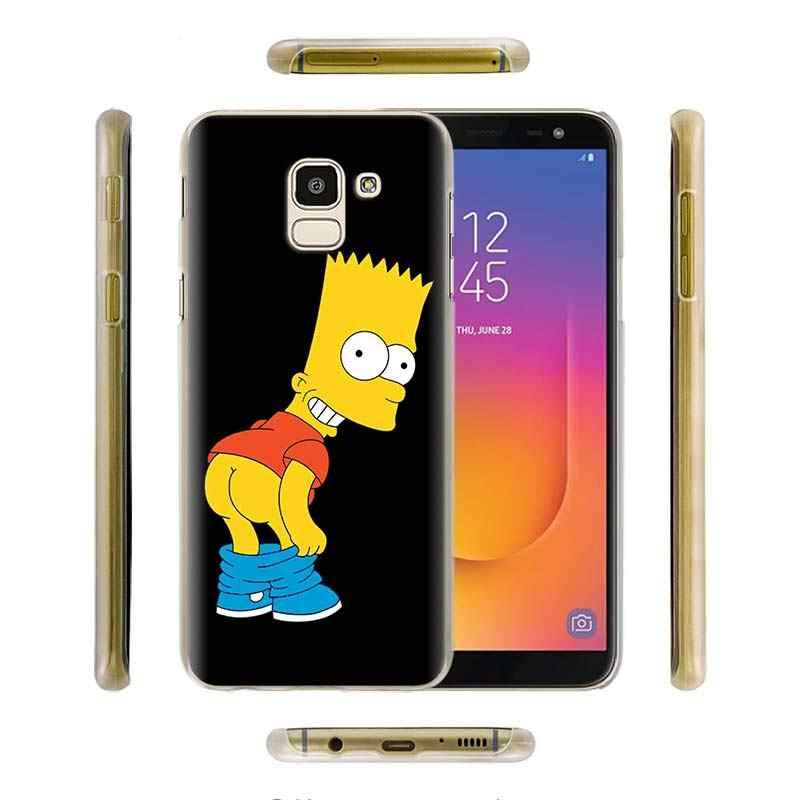 Homer J. simpson samsung kılıfı Galaxy A10s A20e A30 A40 A50 A50s A60 A70 A80 A6 A8 artı A7 A9 sert kapak