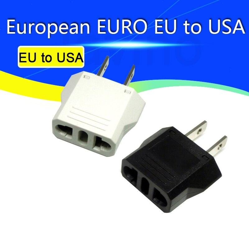 AC 0-250 В Новое поступление Универсальный Европейский евро ЕС в США адаптер для путешествий конвертер адаптер для розетки