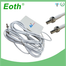 3G 4G LTE Antenna 10dbi with CRC9 male Connector External Pannel Antena 2m cable for Huawei Router modem avec antenne