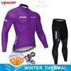 Inverno velo térmico 2020 strava ciclismo jérsei longo conjunto mtb roupas de ciclo roupas esportivas mountain bike ropa ciclismo 25
