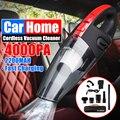 Автомобильный портативный мини-пылесос AUDEW 4000pa  120 Вт  перезаряжаемый беспроводной пылесос двойного назначения с HEPA-фильтром и сумкой