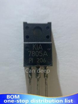 10 unids/lote KIA7805A kia7805api-u/PF el tubo regulador de tres terminales TO - 220 - f 5 v