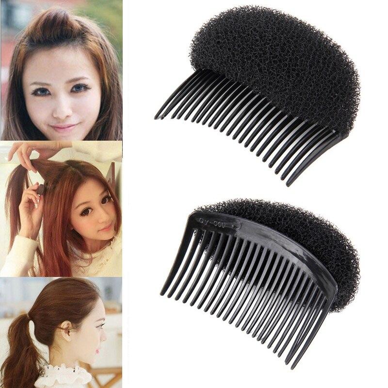Fluffy Pad Bangs Posted Hair Pad Princess Head Hair Fluffy Hair Clip Increaser Hair Styling Clip Stick Bun Maker Braid Tool New