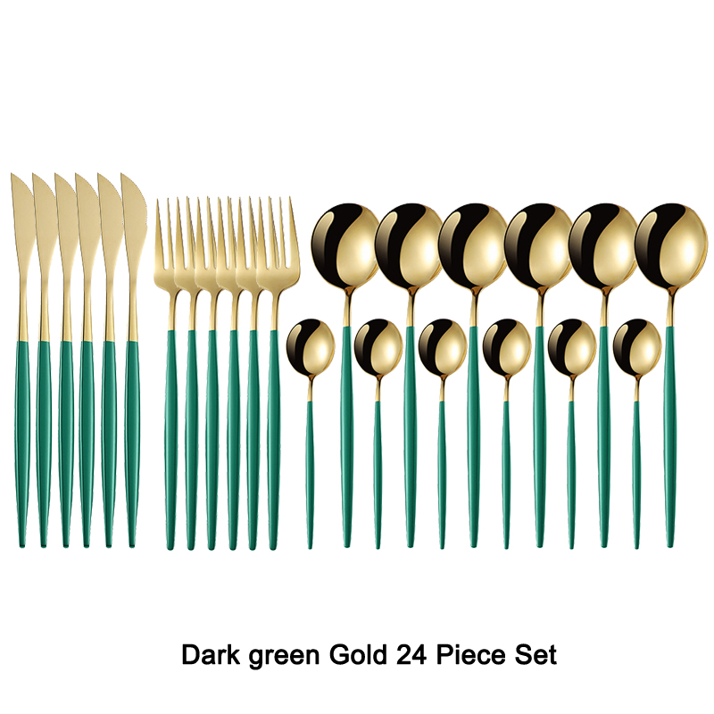 Dark green Gold