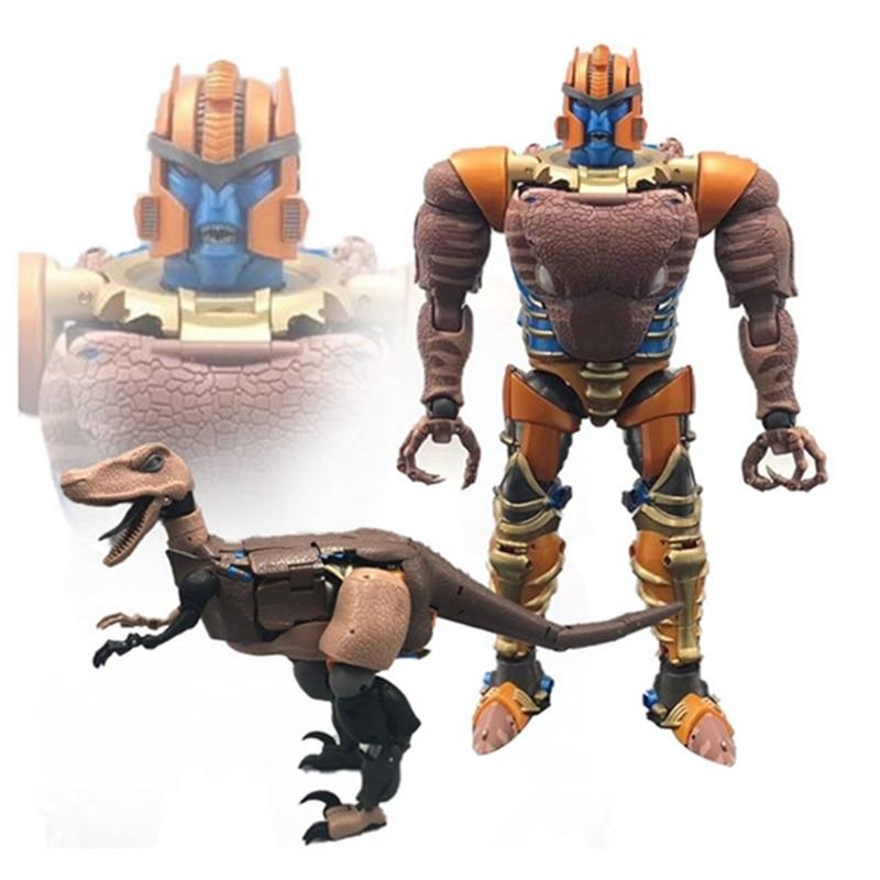 Transformers mp-41 beast battle  super power dinosaur warrior toy