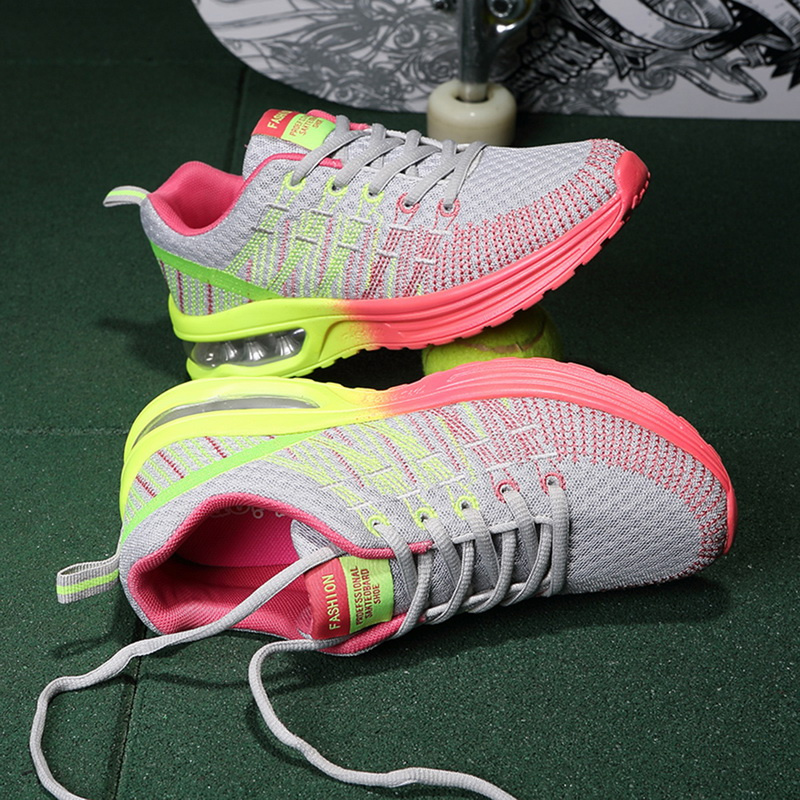 Hc93649d6d85c4f9c8c48482fe160a909G - WENYUJHNew Platform Sneakers Shoes Breathable Casual Shoes Woman Fashion Height Increasing Ladies Shoes Plus Size 35-42