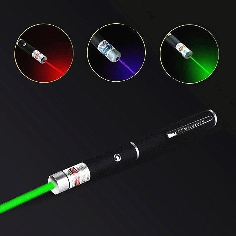 Лазерная указка, лазерная указка, зеленая, синяя, красная точечная лазерсветильник казка, Мощная военная указка, лазерная указка 5 мВт, мощны...