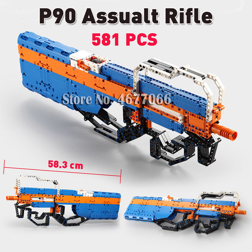 P90 Rifle - 581 PCS