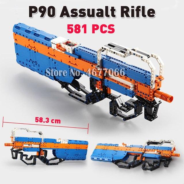 P90 Rifle - 581 PCS