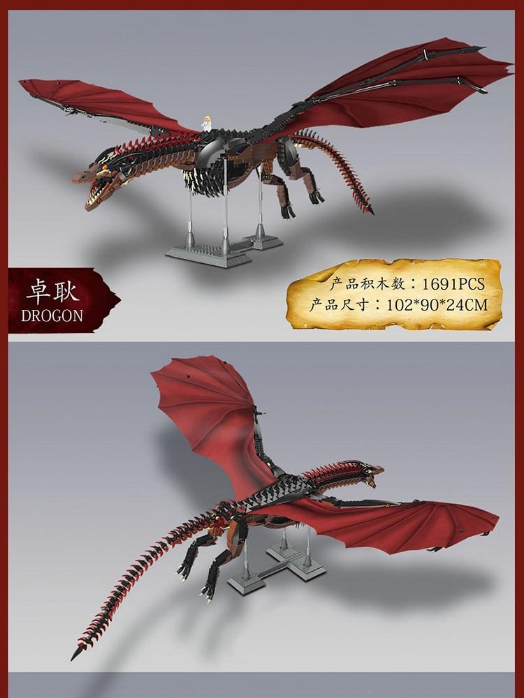 Move Series SUPER 18K K89 Game Of Thrones Drogon