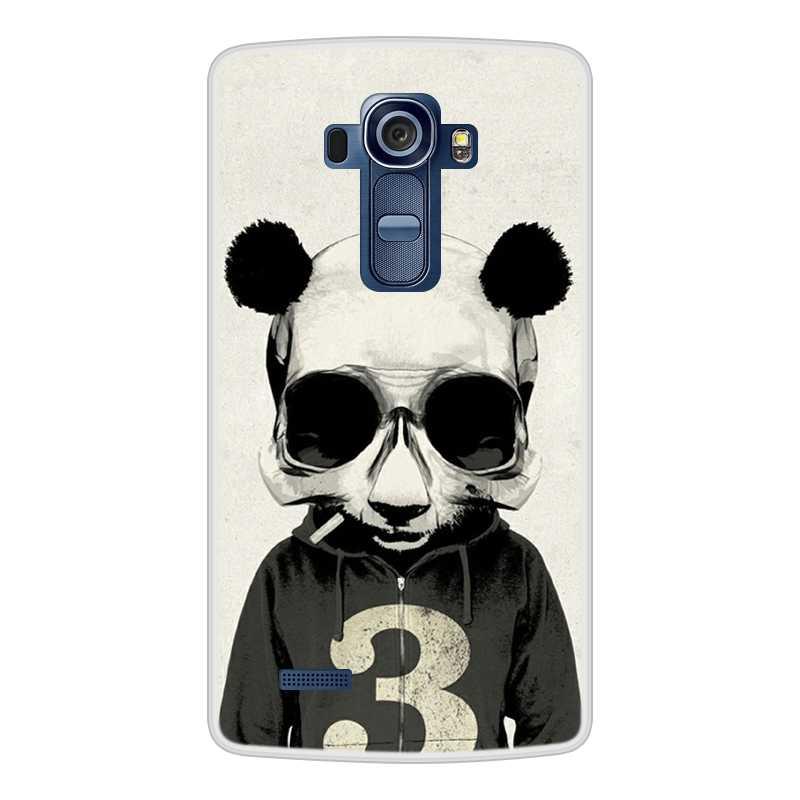 Fall für LG G4 Weiche Silikon TPU Kühlen Muster Gedruckt Telefon Abdeckung Coque für LG H815 Fall Abdeckung