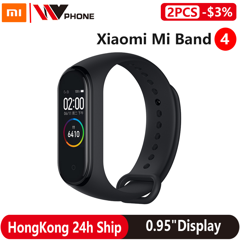 Xiaomi Mi Band 4 Smart Bracelet 3 Color AMOLED Screen Miband 4 Smartband Fitness Traker Bluetooth Sport Waterproof Smart Band|Smart Wristbands| - AliExpress