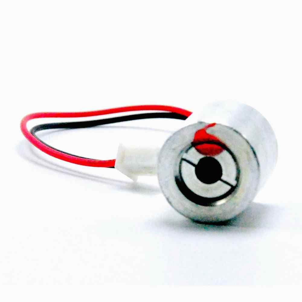 Mini 650nm 660nm 100mW 2,5 V Módulo de diodo láser de punto rojo con Cable 18x18mm