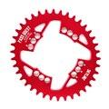 Pass Quest Овальный 94BCD MTB узкая широкая цепь/цепное кольцо 32 T/34 T/36 T/38 T велосипедная цепь/цепное колесо шатун