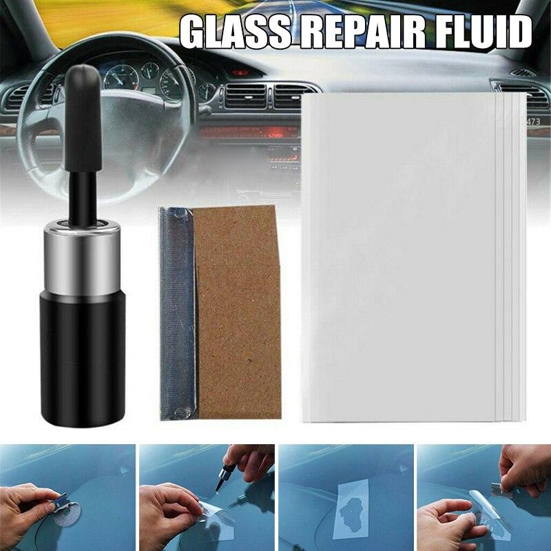 Windshield Scratch Crack Repair Tool Glass Corrector Window Glass Resin Blade Stripe Repair Adhesive Car Windshield Repair Kit