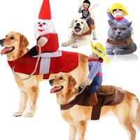 Navidad Perro animal Halloween Ropa para perros grandes espesar Perro abrigo chaqueta mascota Perro traje Chihuahua Perro Ropa Perro