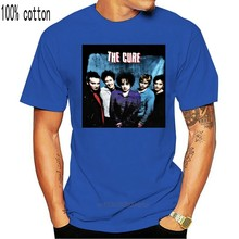 The Cure T Shirt Vintage Retro Graphic Tee anglais Uk '70 Post Punk Rock Band