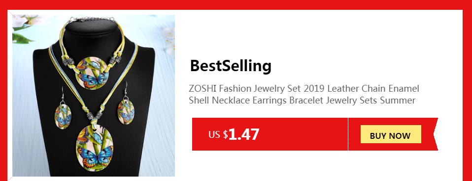 ZOSHI Blue natural crystal stone pendant necklace fashion peacock pendant necklace for women jewelry 4