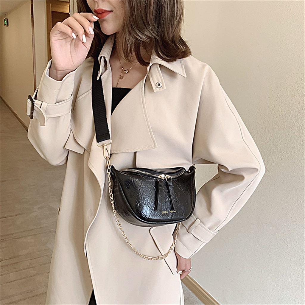 Female Belt New Brand Women Waist Pack Fanny Pack For Women Leather Waist Belt Shoulder Bag Belt Bag Chest Bag Поясная Сумка