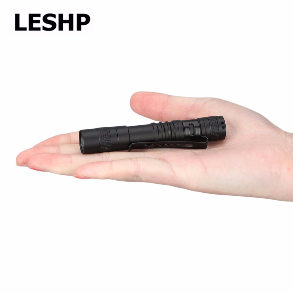 Portable Mini Waterproof Penlight 2000LM LED Powerful Torch AAA Battery Powerful LED Outdoor Activities Self-defense Flashlight