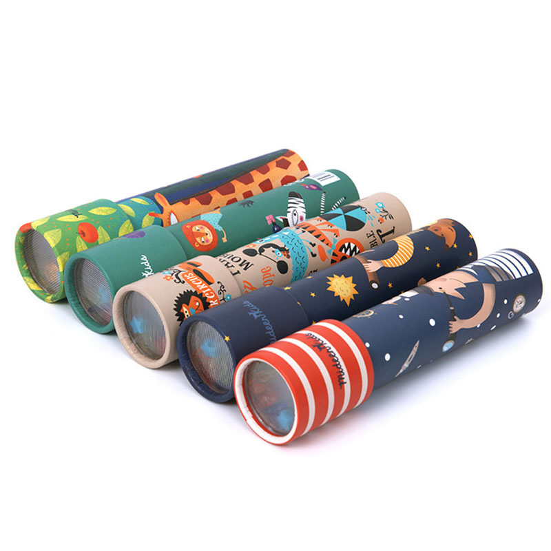 Classic Toys Kaleidoscope Rotating Magic Colorful World Toy For Children Autism Kids Puzzle Toy Gifts
