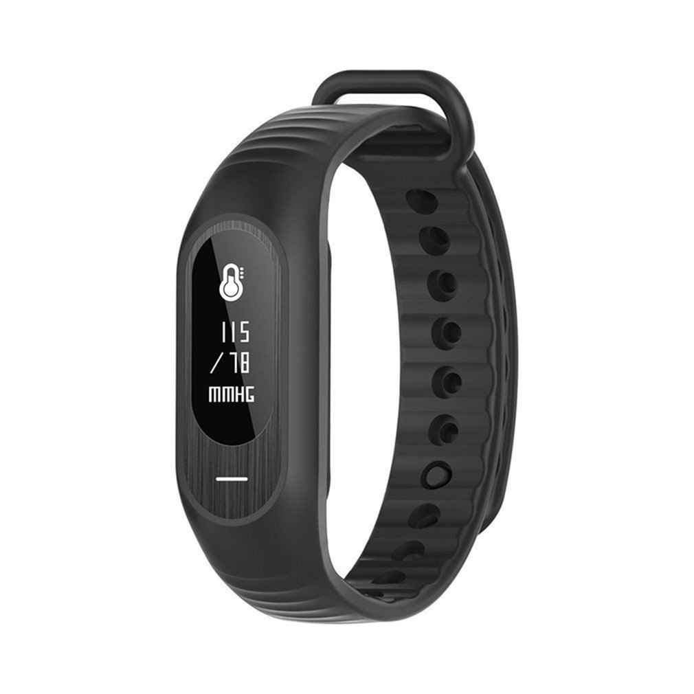 Bozhi B15P Heart Rate Blood Pressure Health Photoelectric Monitoring Smart Bracelet Electronic Watch