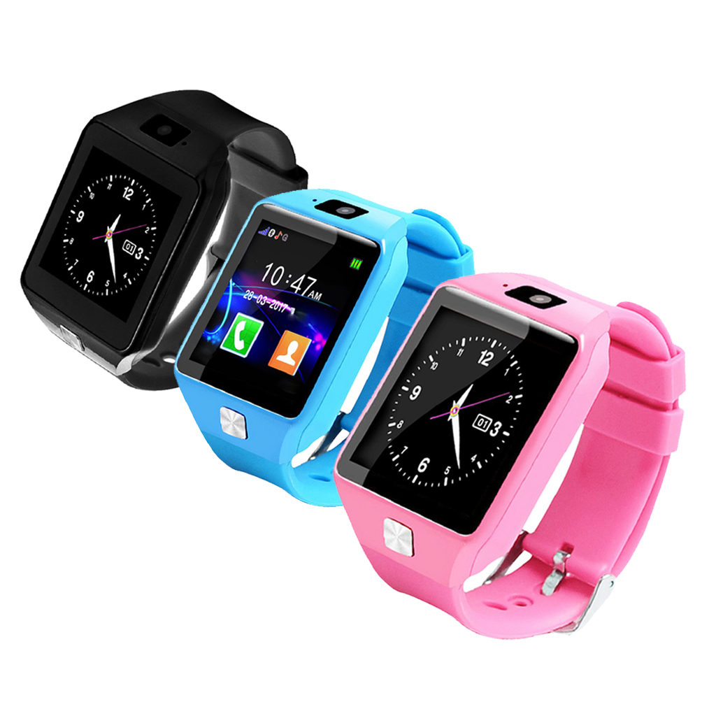 Touch Screen Kids Smart Watch Phone Smartwatch for Children Voice Chat Remote Camera Sleep Monitoring Pedometer Smartwatch in Smart Watches from Consumer Electronics