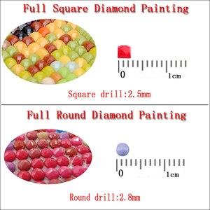 Image 3 - DIY Diamond Painting Allah Muslim Islamic Calligraphy Painting Diamond Embroidery Round/Square Cross Stitch Mosaic Home Decor