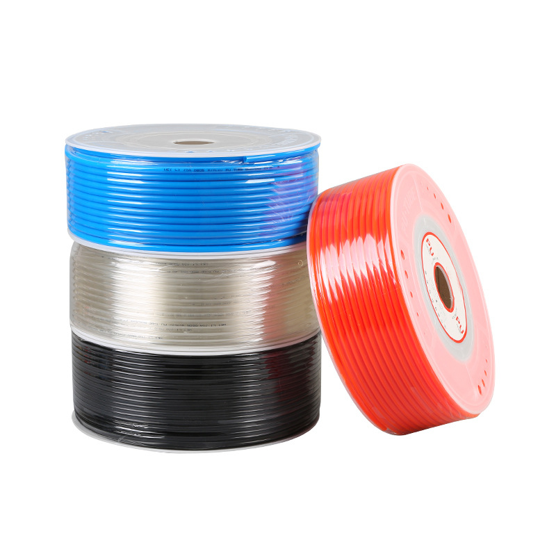 100M/ROLL PU Pipe 8x5 Flexible Hose for Compressor Pneumatic Component OD 8mm Air Line Tube High Pressure