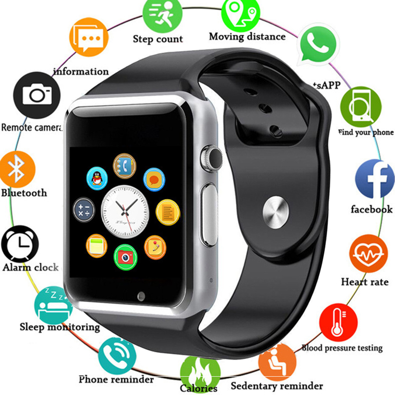 A1 Bluetooth Smart Watch Sport Support Call Music 2G With SIM TF Camera Smartwatch for Android PK Dz09 Gt08 U8 T8 I5|  - title=