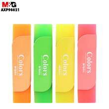 M&G Colors Eraser. Creative Cartoon Pupils Art Drawing Candy Jelly Soft Rubber 4B With Few Scraps And No Marks AXP96621
