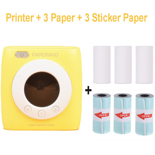 Y and 6 rolls paper