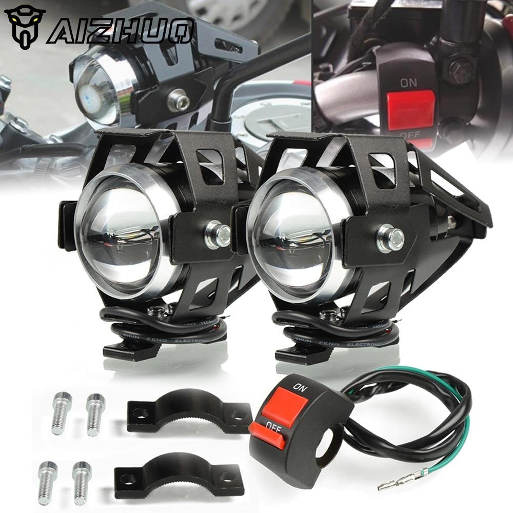 Motorcycle Headlights U5 Headlamp Spotlights Fog Head Light FOR SUZUKI GSR400 GSR600 V-Strom DL 1000/650 GSX-S750 SV650 GSXS1000