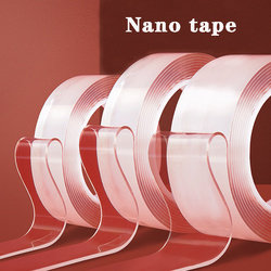 1Mm Nano Tape Gewassen Sterke En Traceless 1M/2M/3M/5M Herbruikbare nano Sticker Magic Transparante Lijm Dubbelzijdig