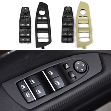 Auto Innen Fenster Lift Schalter Panel Tür Griff Trim für BMW 7 Serie F02 61319241915 Auto Zubehör LHD Links Hand stick