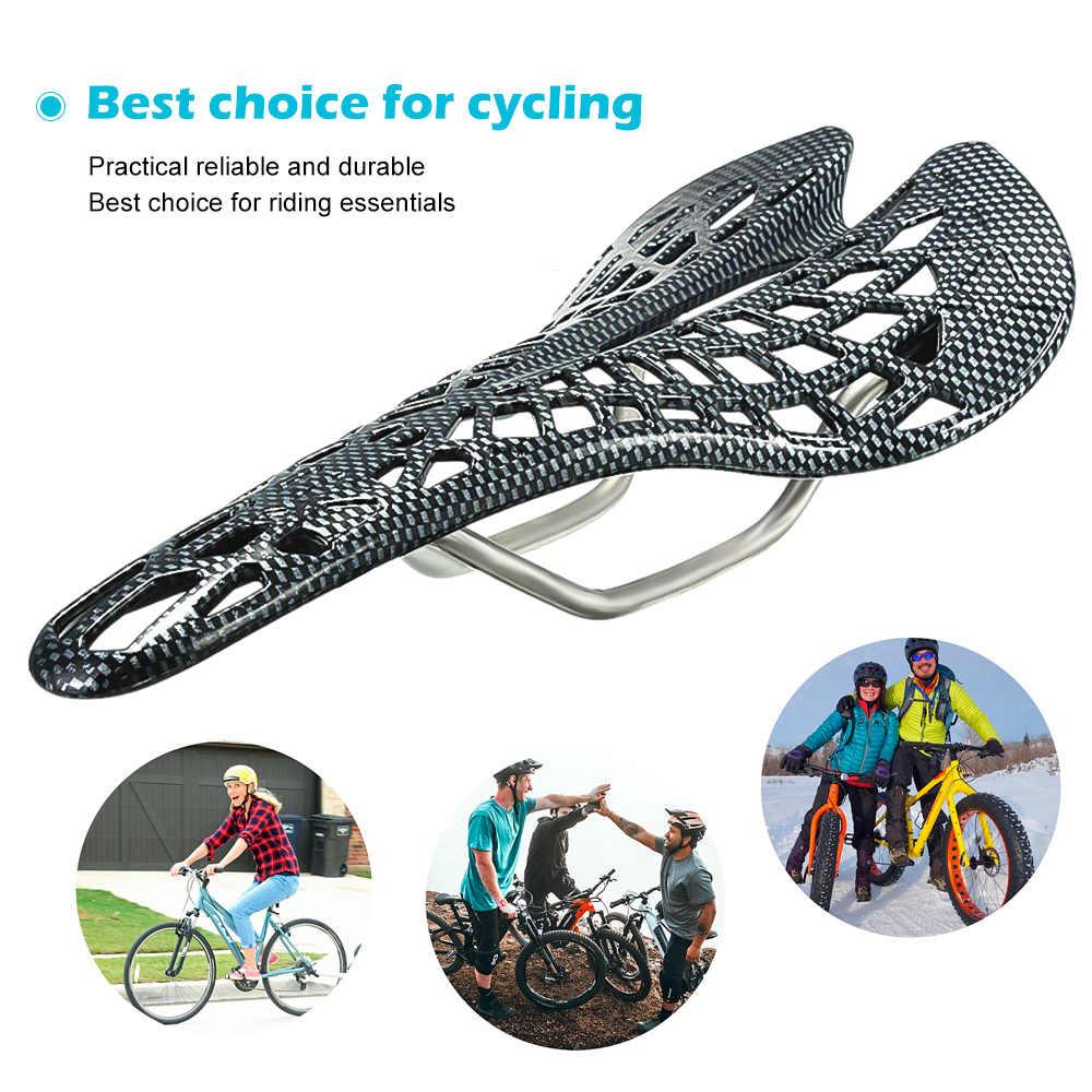 SFIT الطريق الجبلية دراجة السرج ألياف الكربون سباق الدراجات ركوب جوفاء مقعد سرج قطع غيار الدراجات معدات الدراجات Bicicleta